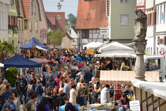 Markt in Munderkingen