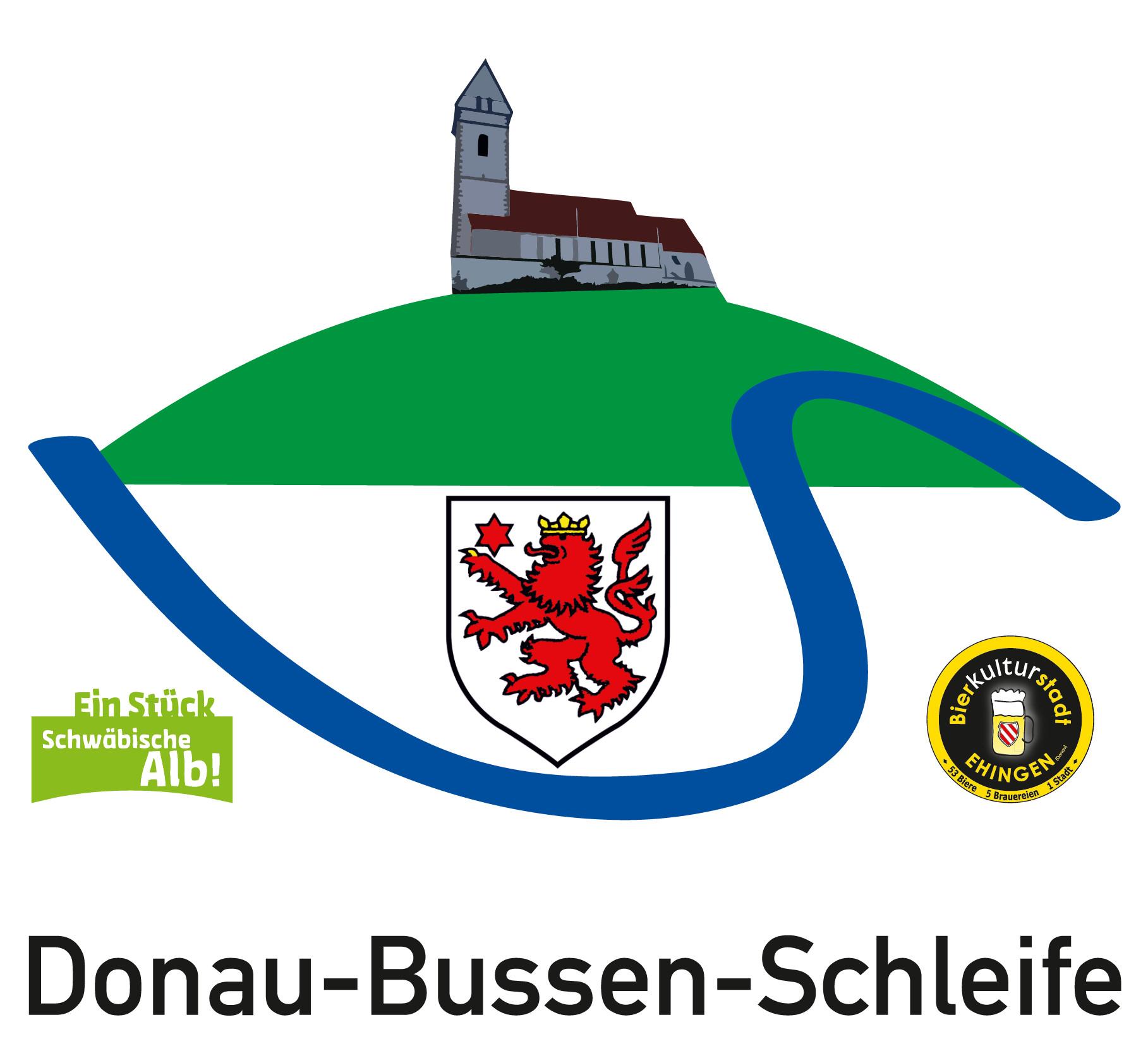 Logo der Donau-Bussen-Schleife