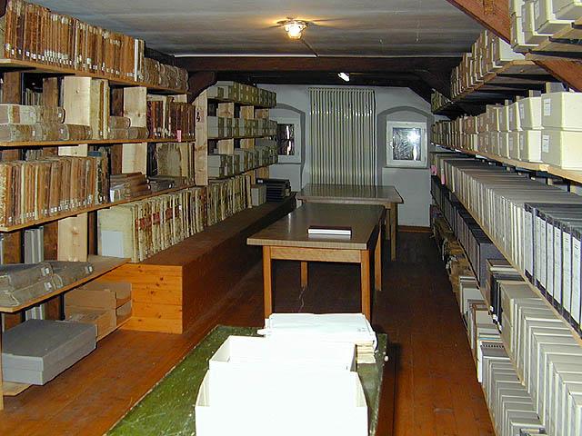 Bibliothek des Archivs