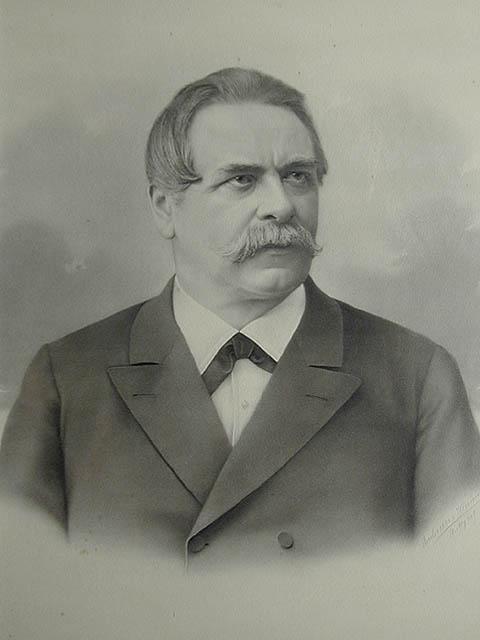 Porträt Karl Josef von Schmid (1832 - 1893)