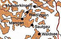Gebietskarte von Mudnerkingen