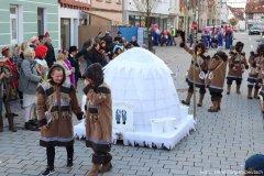 "Gruppe ""AH"" als Eskimo"