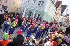 """""""Bauarbeiter"""" beim Flashmob"""