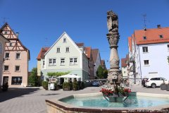 Marktbrunnen und Marktplatz