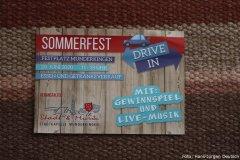 Sommerfest Drive in, Flyer