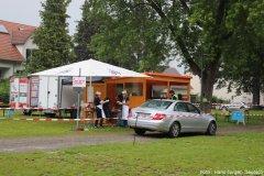 Sommerfest Drive in, Essensausgabe