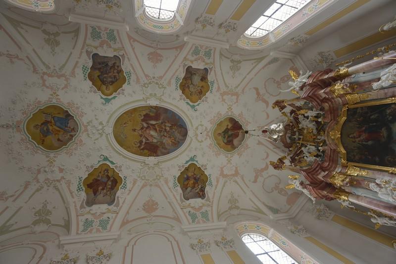 Decke vor dem Altarraum, Foto: Thomas Stephan