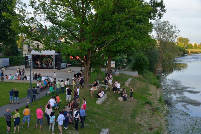 Musikverandtaltung im Stadtpark