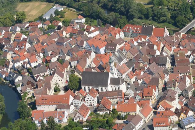 Luftbild Innenstadt