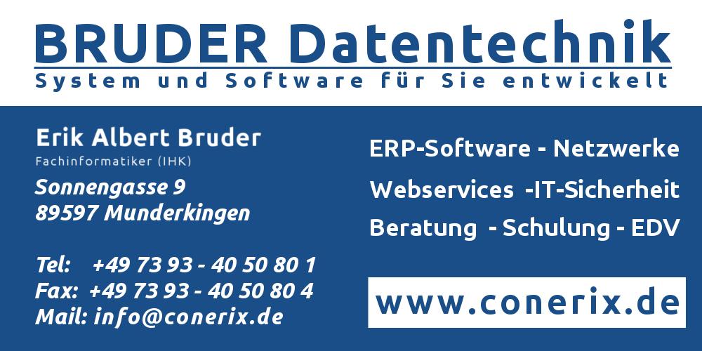 Logo BRUDER Datentechnik