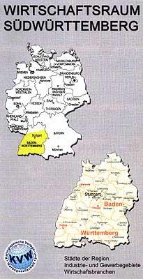 Flyer Wirtschaftsraum Südwürttemberg